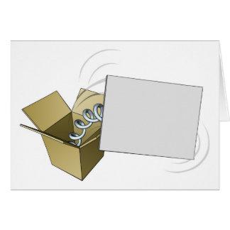 Sinal de Jack in the Box Cartao