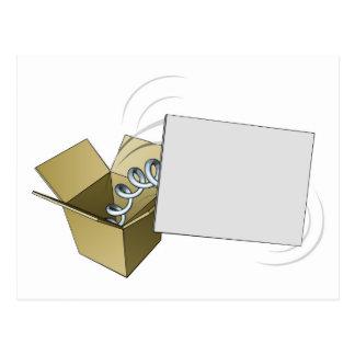 Sinal de Jack in the Box Cartão Postal