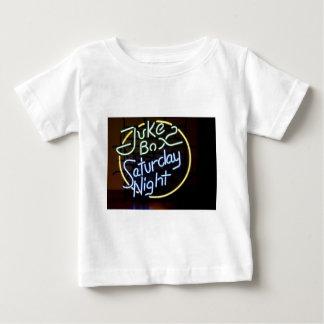 Sinal de néon do jukebox tshirt