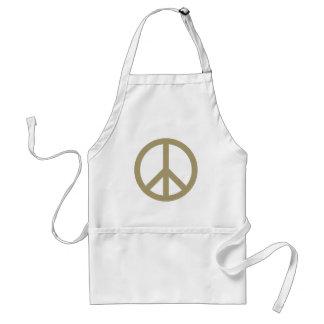 Sinal de paz avental
