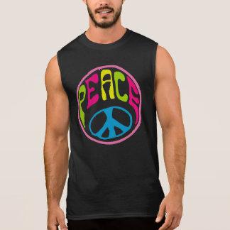 Sinal de paz do Hippie Camisetas Sem Manga
