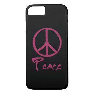 Sinal de paz retro capa iPhone 8/ 7