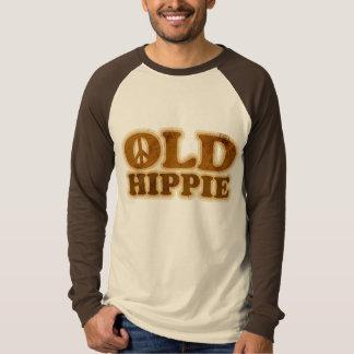 Sinal de paz velho do Hippie Tshirt