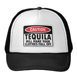 Sinal do cuidado do Tequila do vintage Boné