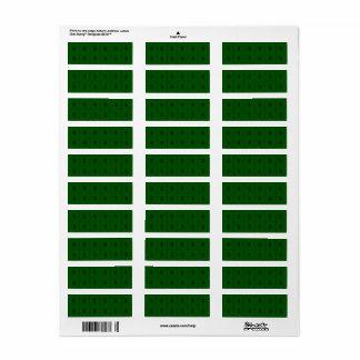 Sinal do dinheiro na etiqueta pequena extra verde