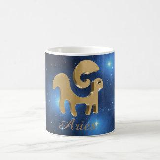 Sinal do ouro do Aries Caneca De Café