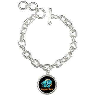 Sinal do zodíaco do Aquário Bracelete