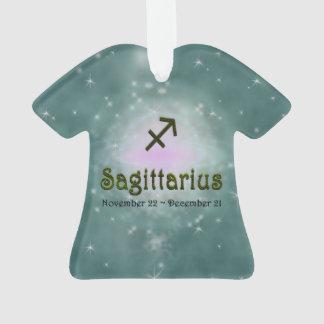 Sinal do zodíaco do Sagitário da cor da picareta