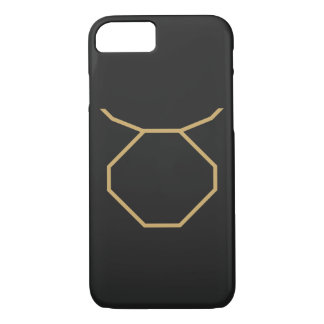 Sinal do zodíaco do Taurus básico Capa iPhone 8/ 7