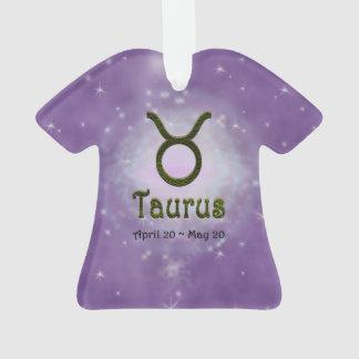 Sinal do zodíaco do Taurus da cor da picareta de U