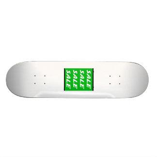 Sinal verde da venda skate personalizado