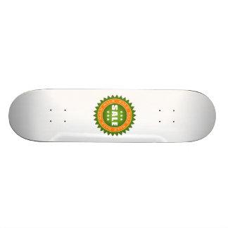 Sinal verde da venda skate
