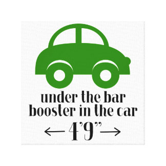 Sinal verde das canvas do carro impressão em tela