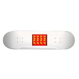 Sinal vermelho da venda skates personalizados