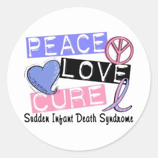 Síndrome da morte infantil repentina da cura SIDS Adesivo