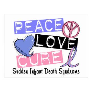 Síndrome da morte infantil repentina da cura SIDS Cartão Postal