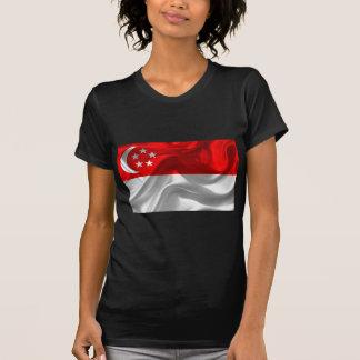 Singapore-Bandeira Camiseta