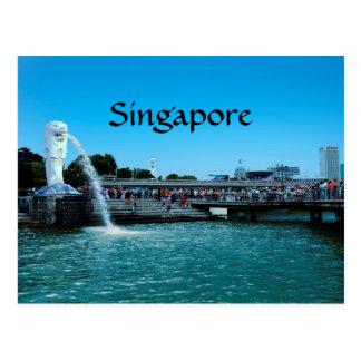Singapore: o cartão da cidade do leão