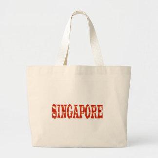 SINGAPORE: Orgulho nacional n que comemora a Bolsa De Lona