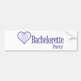 SingleHeart-BacheloretteParty-Ind Adesivo Para Carro