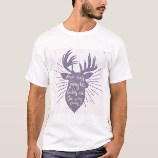 Sinos de tinir todo o t-shirt do xmas | da maneira camiseta