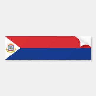 Sint Maarten, bandeira de St Martin, Dutch/Países  Adesivo Para Carro