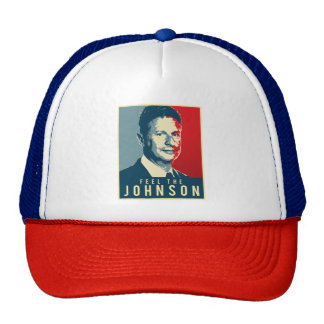 Sinta o Johnson - o poster da propaganda de Gary Boné
