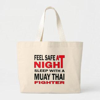 Sinta seguro no sono da noite com um lutador sacola tote jumbo