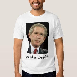 Sinta um esboço? t-shirts