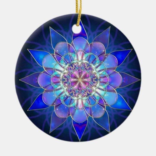 Sintonia Ornamento De Cerâmica
