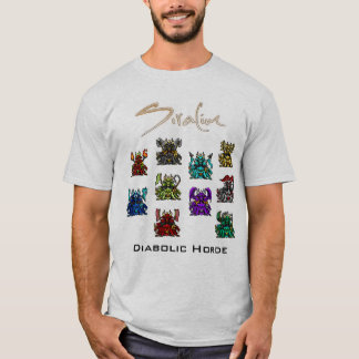 Siralim - camisa diabólica da horda
