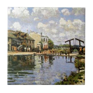 Sisley - o canal St Martin, 1872