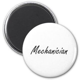 Sistema de trabalho artístico do Mechanician Ímã Redondo 5.08cm