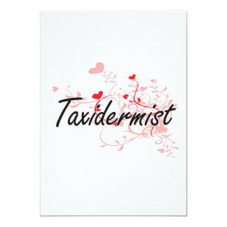 Sistema de trabalho artístico do Taxidermist com Convite 12.7 X 17.78cm