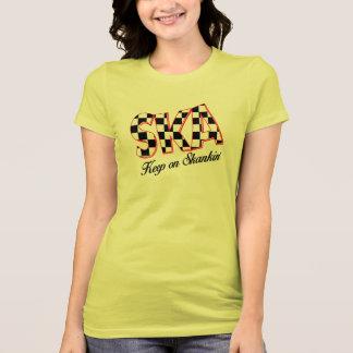 Ska, camisa Checkered