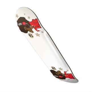 Skate 21,6 cm com músico