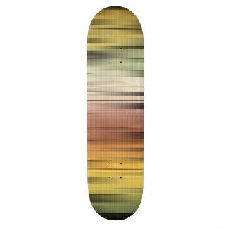 Skate Abstrato das cores do outono