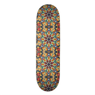 Skate Abstrato geométrico colorido