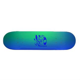 Skate azul musical