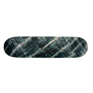 Skate Azul pintado de madeira