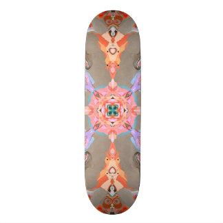 Skate Caleidoscópio abstrato estrutural