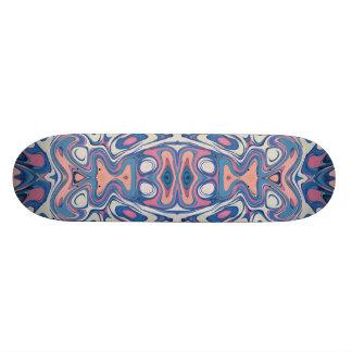 Skate Camadas caóticas coloridas