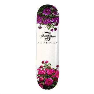 Skate Canvas florais