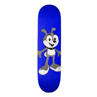 Skate clássico do azul do coelho dos desenhos