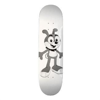 Skate clássico do branco do coelho dos desenhos
