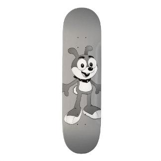 Skate clássico do cinza do coelho dos desenhos