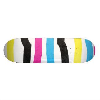 Skate Colorido listrado