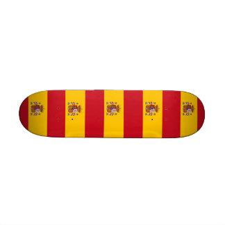 Skate com a bandeira da espanha