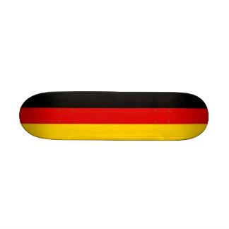Skate com a bandeira de Alemanha
