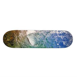Skate com uma foto perfeita da onda por Paul Topp